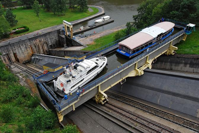 Schiffshebewerk Niederfinow Unfall